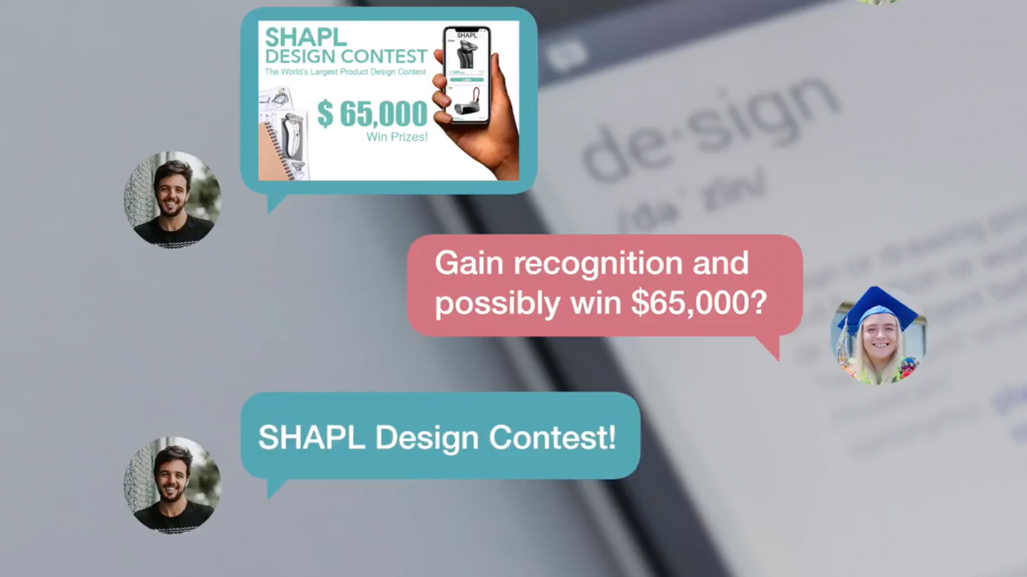 SHAPL Design Contest SMS