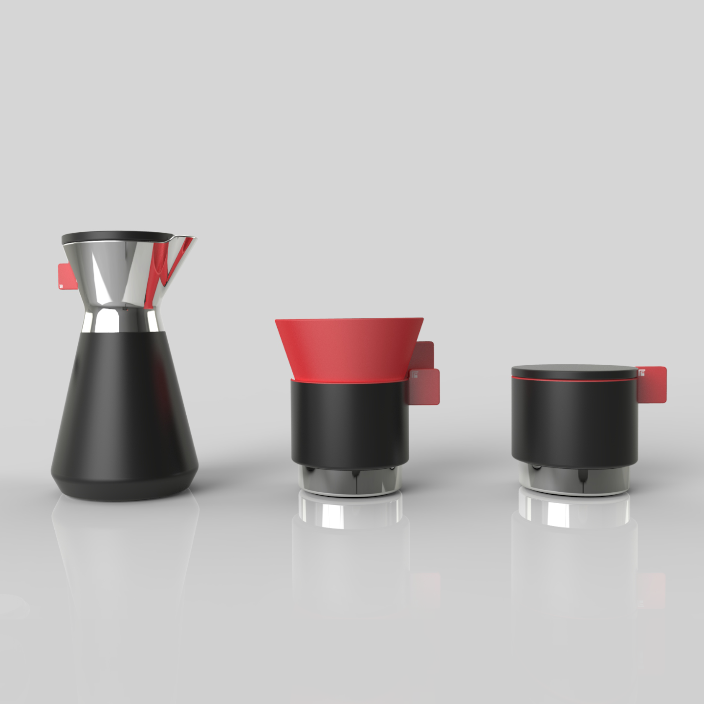 A Simple Hand Drip Coffee Set