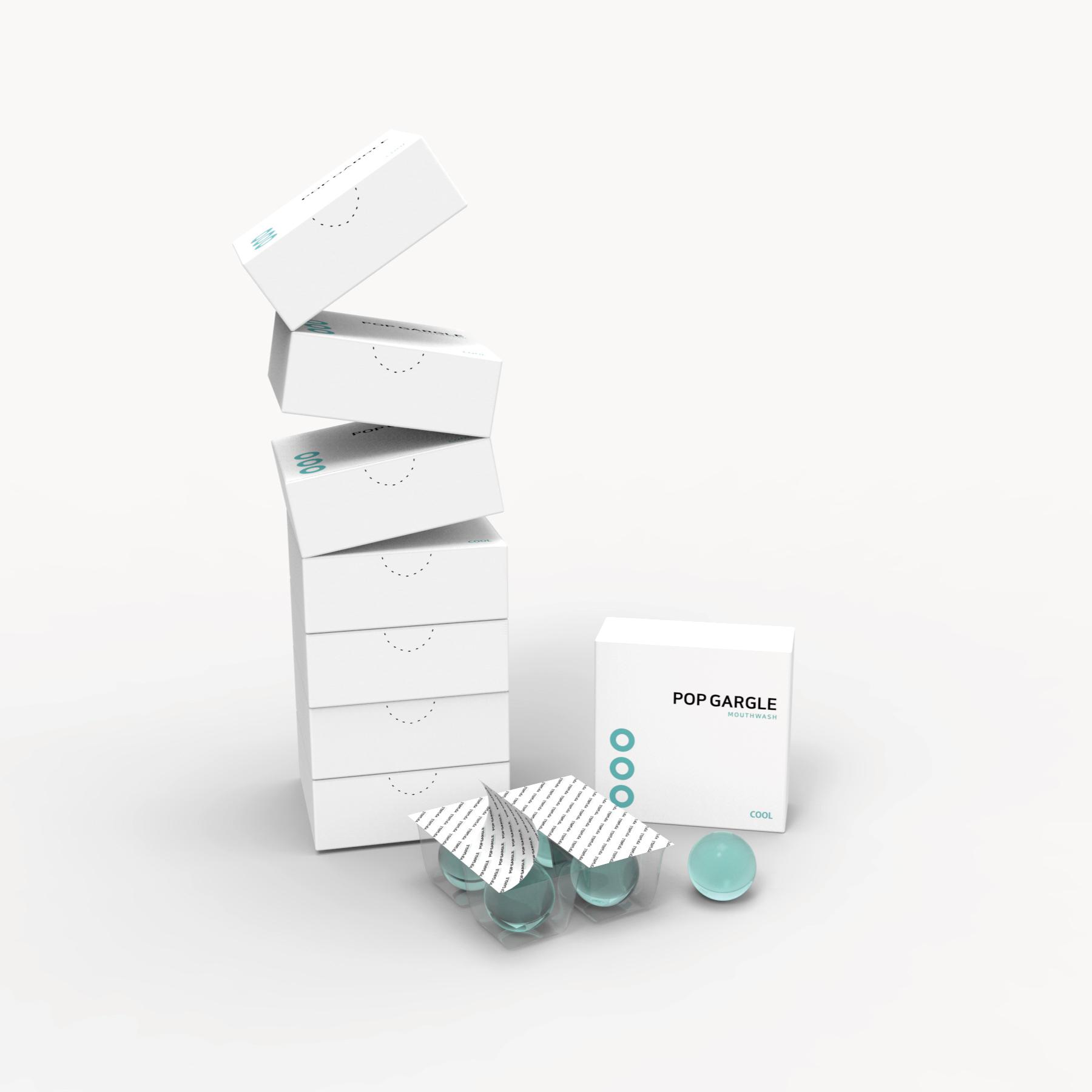 Pill type Gargle