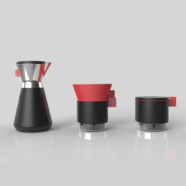 A Simple Hand Drip Coffee Set photo 00