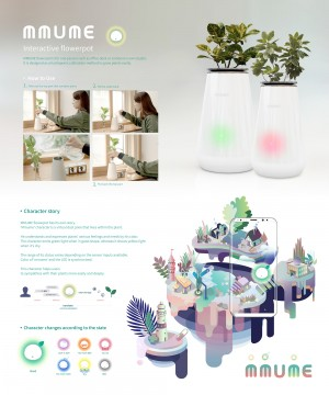 Smart Flower Pot : MMUME
