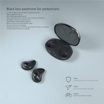 Black Box earphone