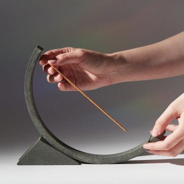 Moon Holder, incense holder