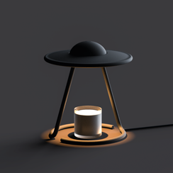 Beam me up_UFO Candle warmer