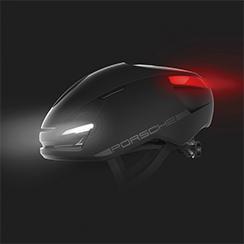 Porsche Vuelta Smart Helmet