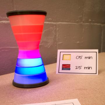Digital Hourglass (see video)