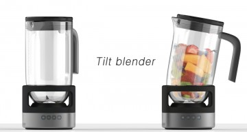 Tilt blender