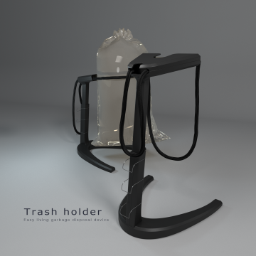 Trash holder