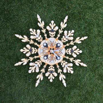 A snowflake watch