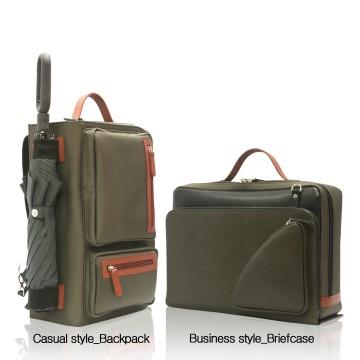 B&B BAG (Briefcase & Backpack)