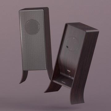 Mini flip speaker
