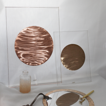 CEMT Metal Pendant Frame