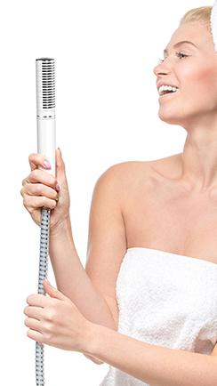Sing! shower handle
