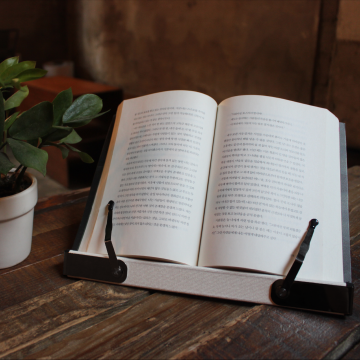 Small fabric bookstand bookPad