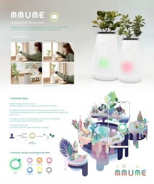 Smart Flower Pot : MMUME