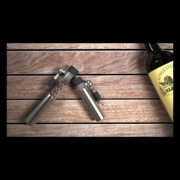The Antiquity Wine Corkscrew