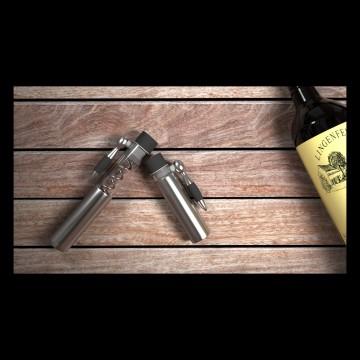 The Antiquity Wine Corkscrew