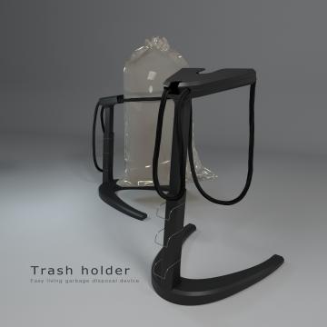 Trash holder