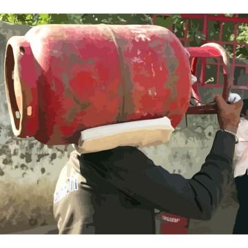 injury prevention Gas Cylinder