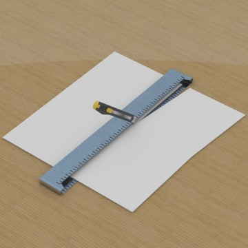 Cutting Mat Ruler