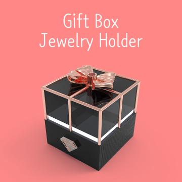 Gift Box Jewelry Holder