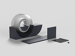 comma / tape dispenser