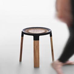 Ciro - a wooden stool