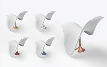 Wave - desk lamp