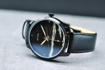 Unique watches with stone dial