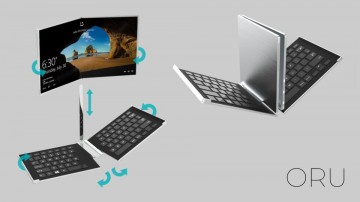 ORU -A foldable tablet concept