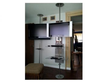 Smarter TV Pole 360 degrees