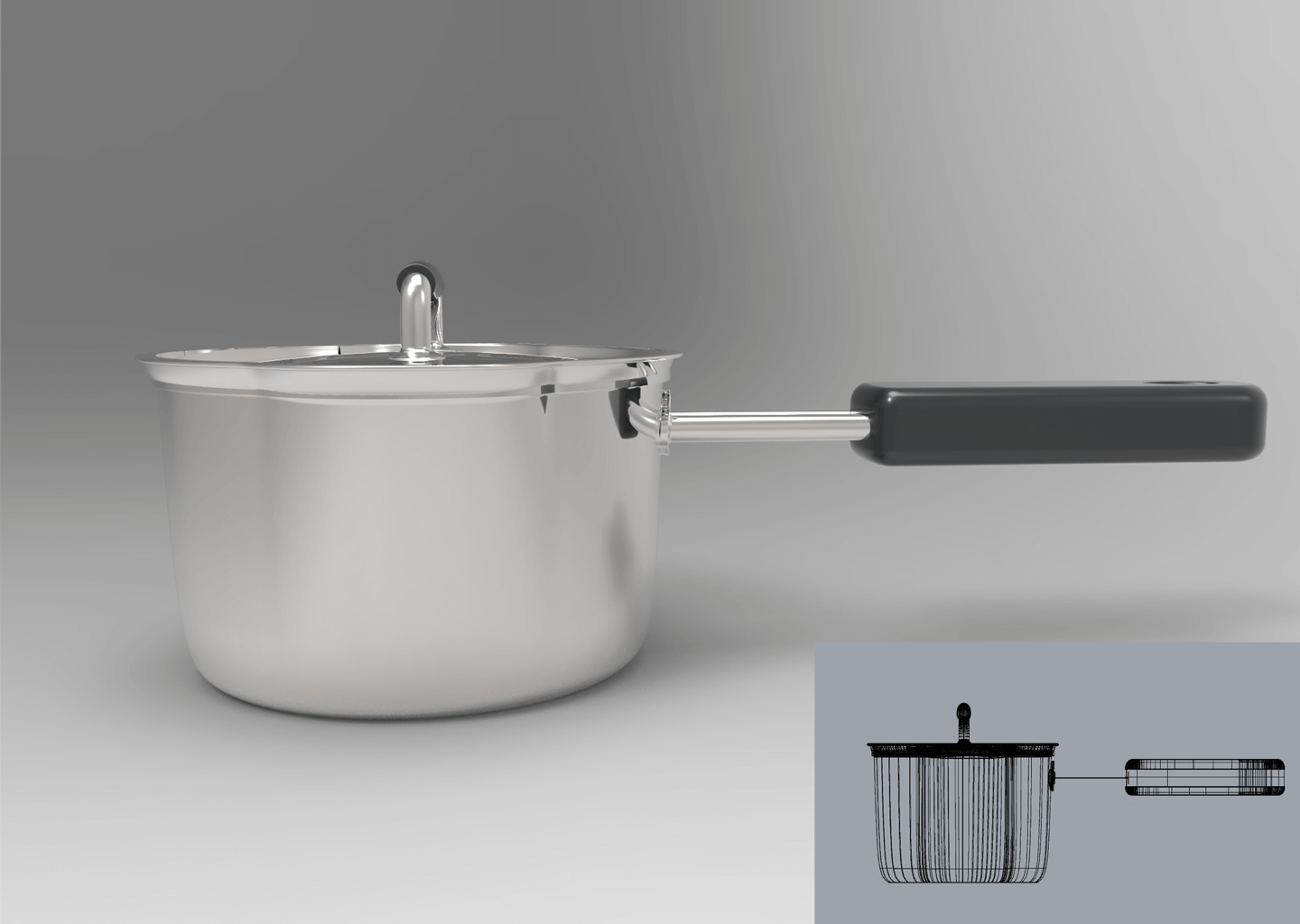 New Type Stainless Pot photo 05