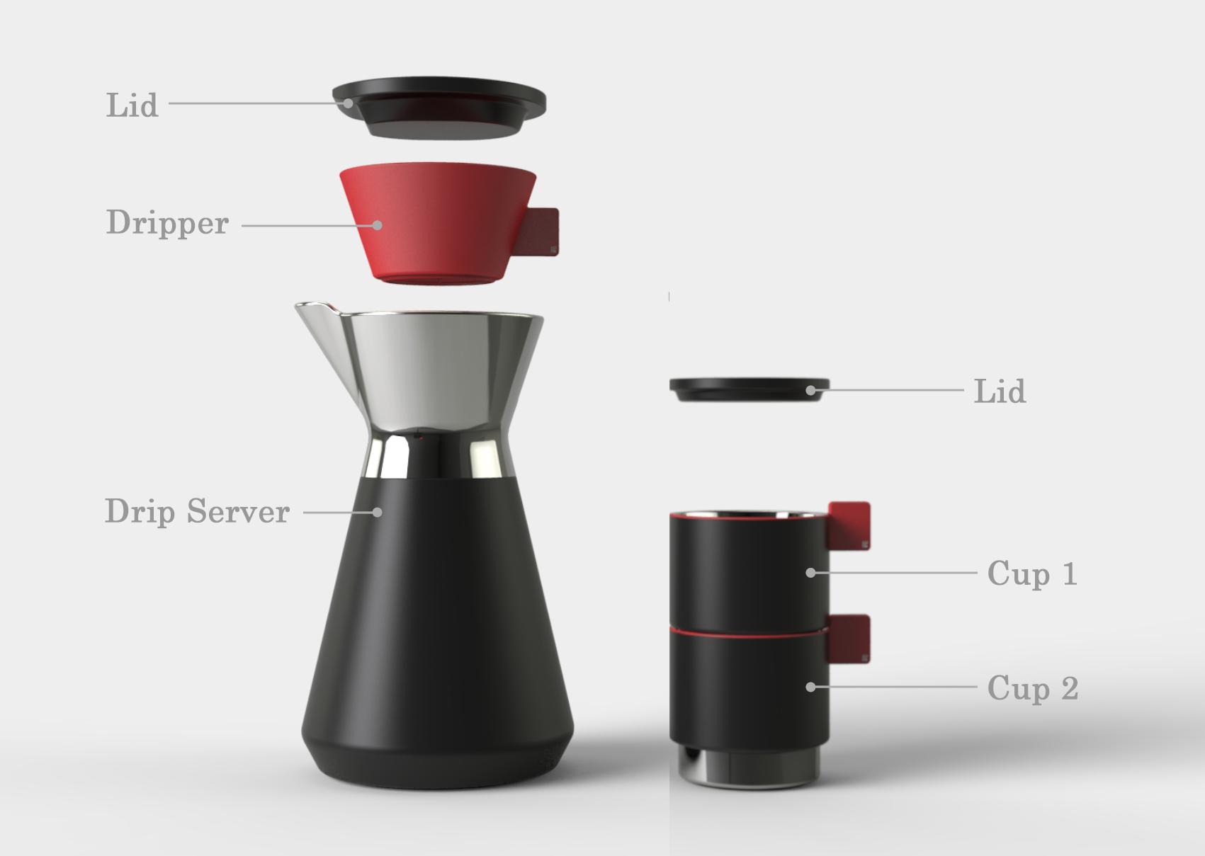 A Simple Hand Drip Coffee Set photo 01
