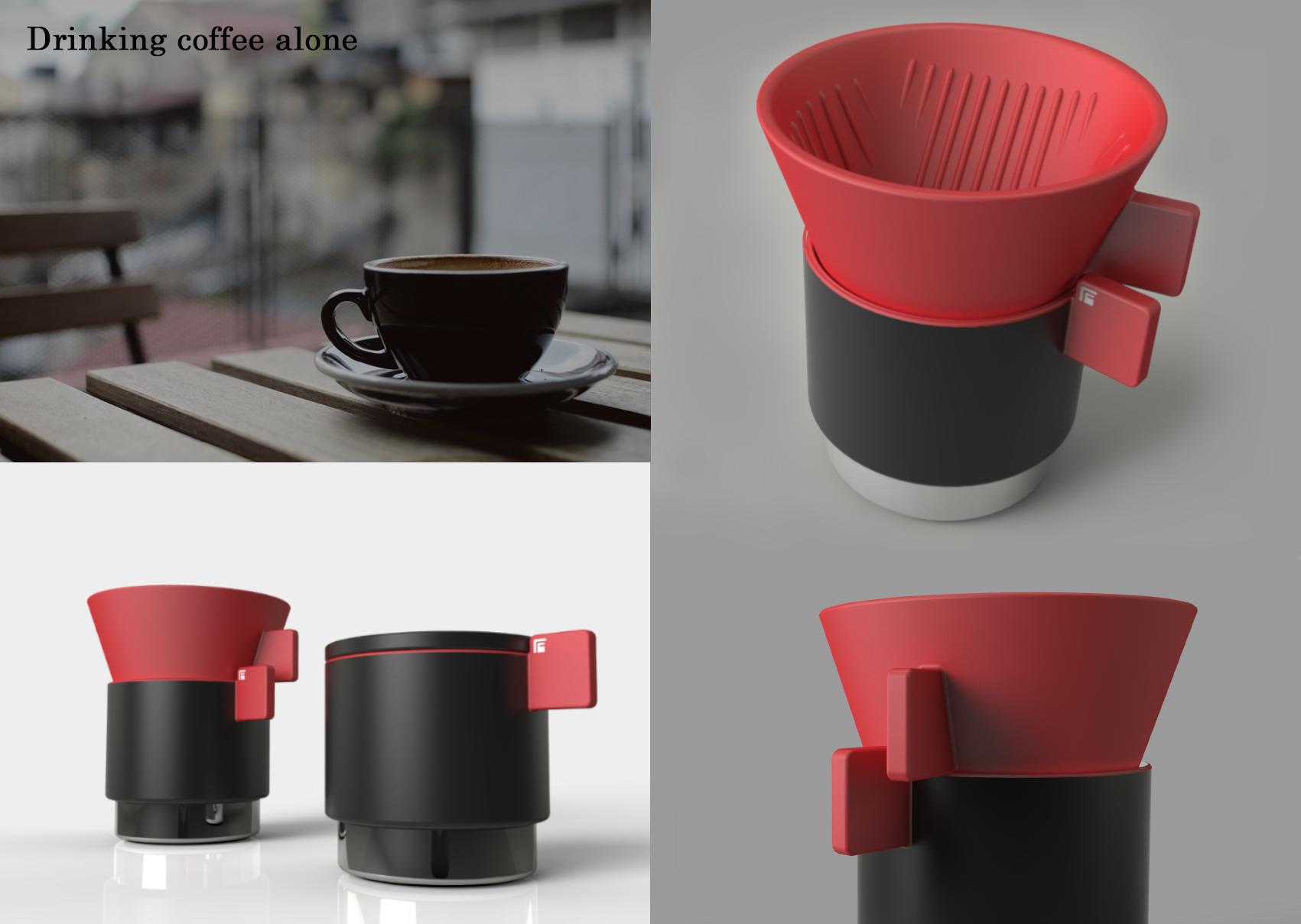 A Simple Hand Drip Coffee Set photo 04