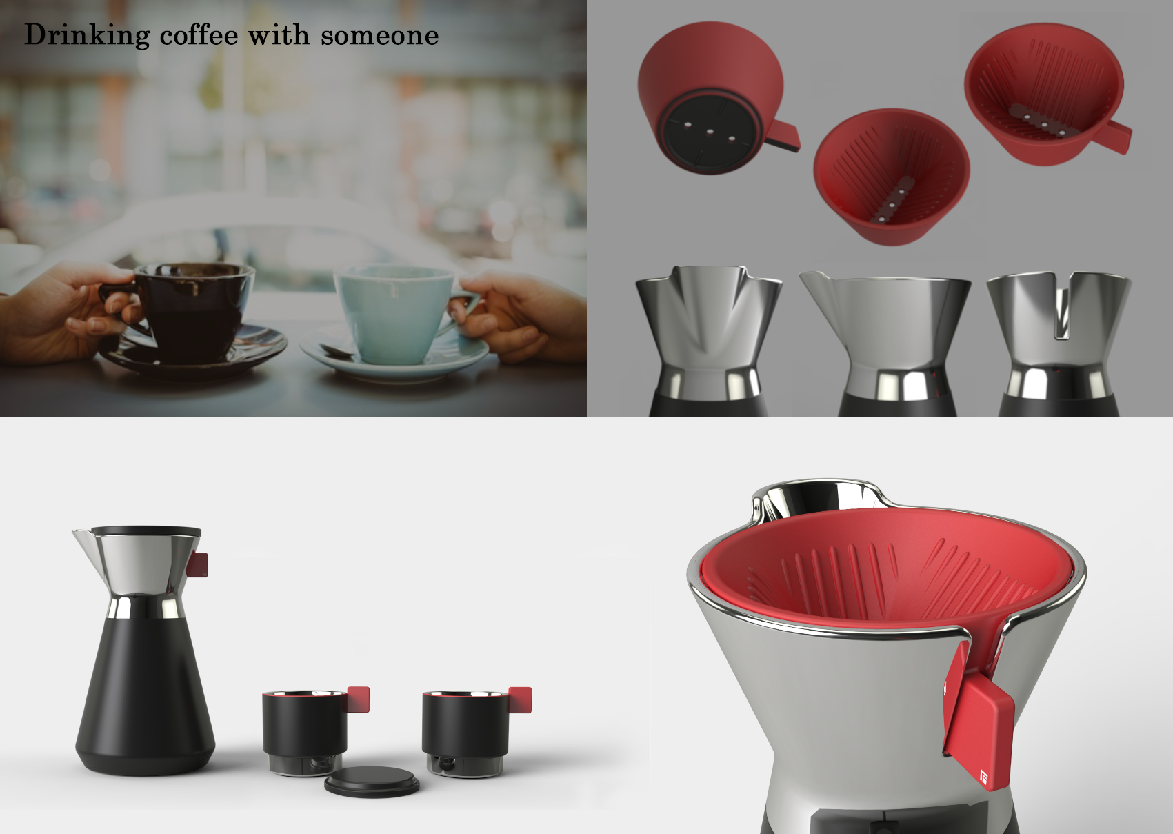 A Simple Hand Drip Coffee Set photo 05