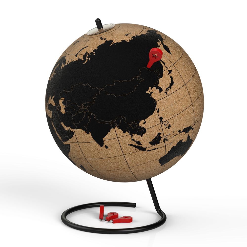 샤플 코르크 지구본