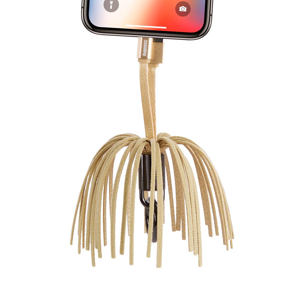 태슬 키링 (USB 케이블 아이폰 전용)