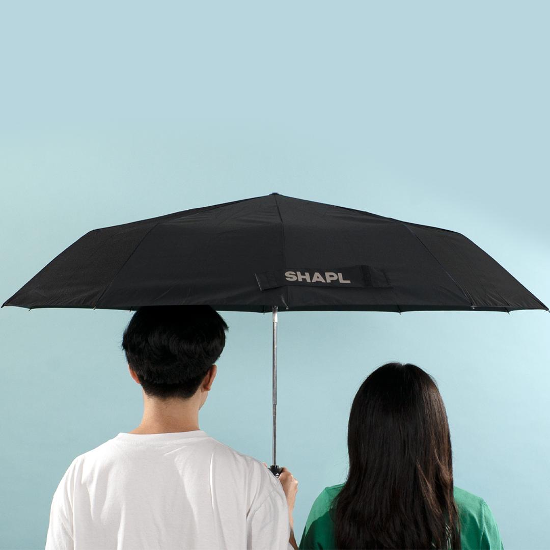 3단 자동 대형 샤플 우산