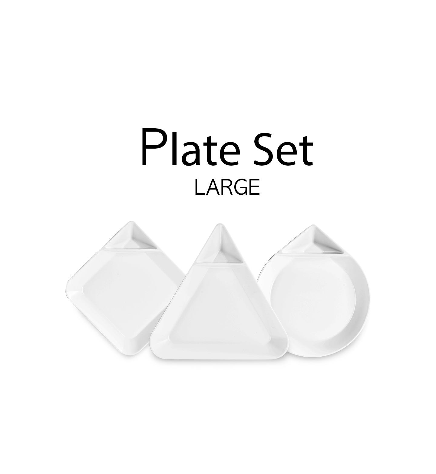 Plate Set Large 03