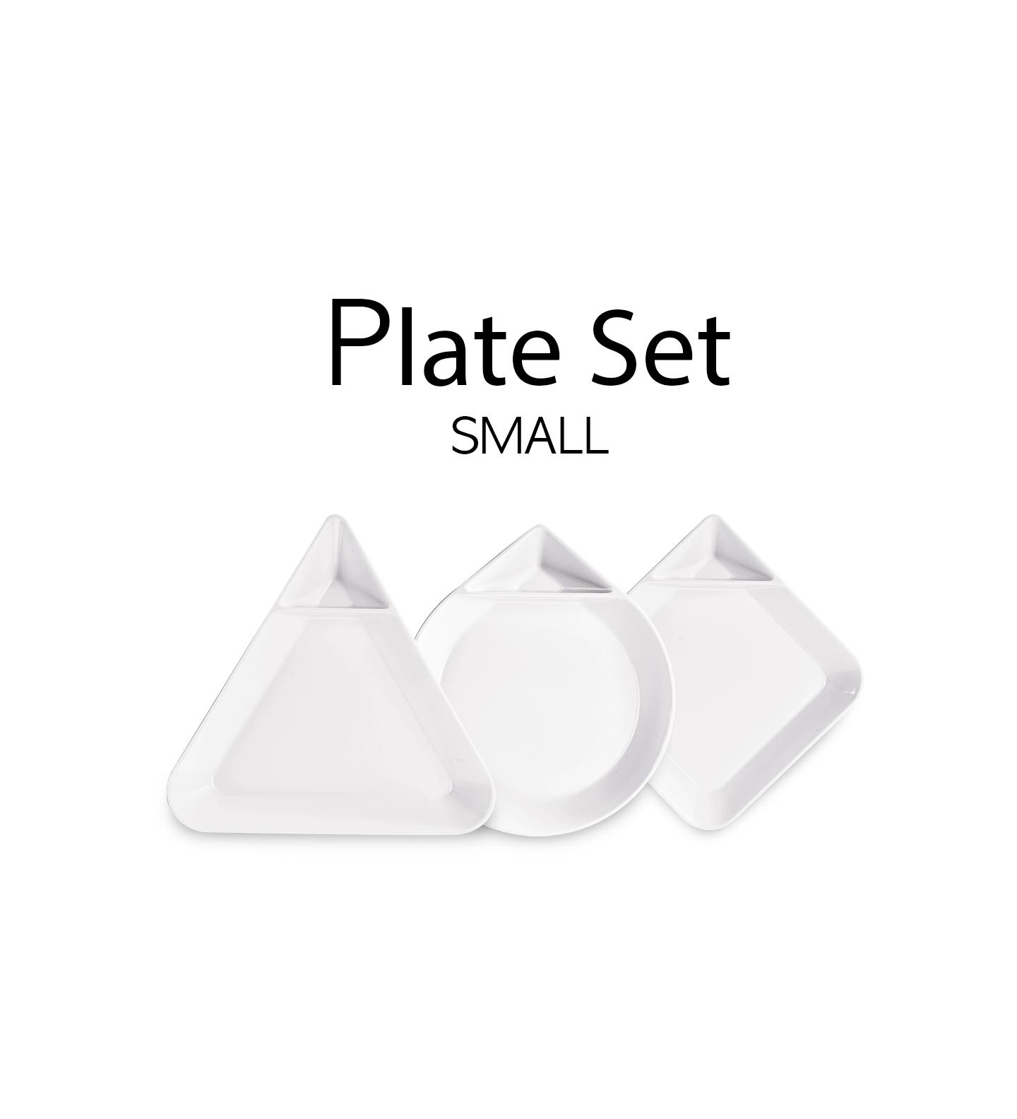 Plate Set Small 03