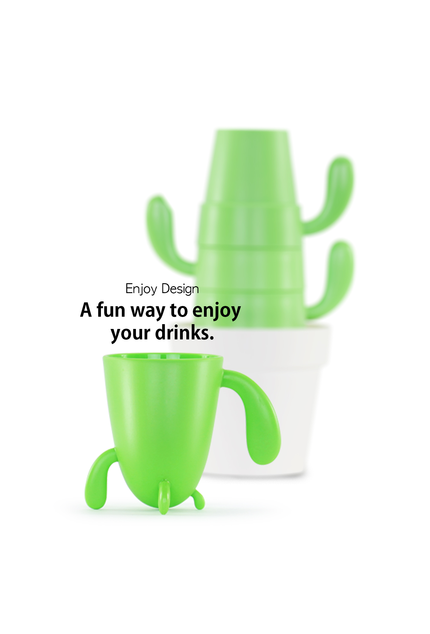 Cactus  Cup Set 03