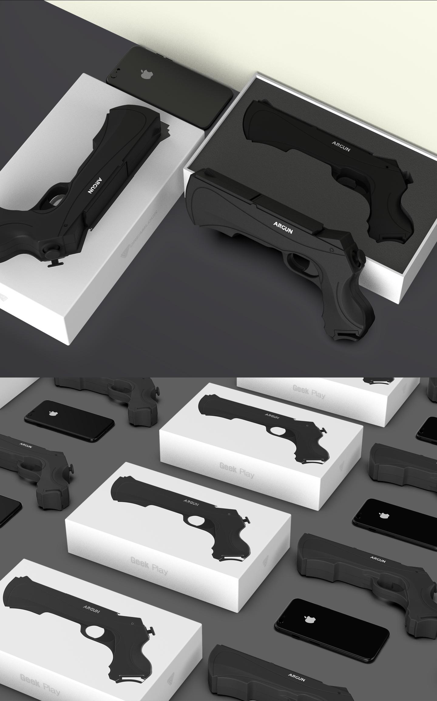 AR Game Gun 03